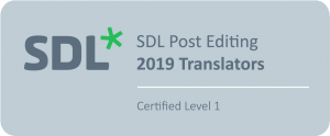 SDL Certified Post-editing Translators