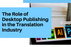 Desktop Publishing or DTP is a process of using computer software specialized to create page layout and designs. The most common programs used for editing and rendering are Autodesk AutoCAD, QuarkXpress, Adobe InDesign, Adobe Illustrator, Adobe Photoshop, Adobe FrameMaker, and Adobe Acrobat. So how does DTP play a role in the translation industry? Within the process of translating documents from one language to another, the word count of the translated document changes. In cases where a translator has to translate marketing collateral (i.e. brochure), it suggests not only changes in the texts itself but also to its entire layout. Going through this procedure makes the final product either shorter or longer. This is where the role of DTP services steps in. DTP focuses on creating page layouts that meet the requirements of its target language. It requires a trained DTP Specialist to manage each modification brought along by the target language's different structure. At the same time, a DTP specialist needs to maintain the design consistency from one source language to its target languages as much as possible. He has to be mindful of the page elements like spaces, size, font, columns, images, shapes, and icons. To make it clearer to understand how desktop publishing plays its role in the translation field, here are the factors that translation alone cannot simply complete. 1. Direction of Text There are documents translated into a language with different direction of writing. Languages that are written from right to left such as Arabic, Aramaic, Dhivehi/Maldivian, Hebrew, Kurdish (Sorani), Persian/Farsi, and Urdu. Also, there are languages from top to bottom direction like Japanese. 2. Narrowed or Extended Words Translating to languages such as Spanish and French extends an entire content to 30%. Meanwhile, if translated to Chinese, the content becomes shorter simply because this language is logographic. Every shortened or expanded text means a possibility of adjustmen